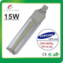 SAMSUNG 5630 g24 led pl light, 15w g24 led pl, high power g23 led pl lamp