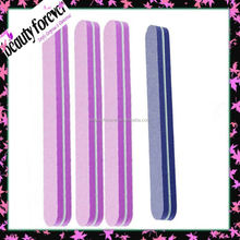 giveaway high quality lady shape sponge type round nail file