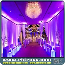High quality and ideal price!! RK design adjustable curtains and drape help for events/wedding/ exhibition wholse sale in China