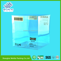 2015 new product clear gift boxes, plastic gift box, clear cake boxes