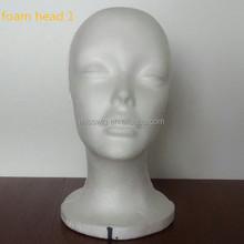 Cabeça de espuma modelo de exibição Mannequin cabeça de espuma manequim cabeça