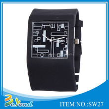 2015 Cheapest price customized silicone graceful fashion watch