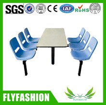 2015 Canteen Table And Chair With 6 People DT-03
