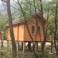 2015 hotest Prefabricated canadian prefabricated wood house log home factory direct sales