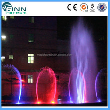 Factory supplier 3D rotating running fountain big size outdoor fountain