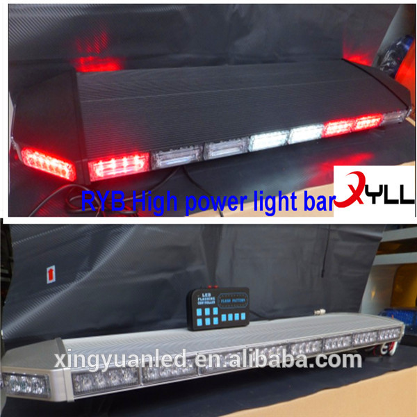 変色しrybhightの質の高い製品のledストロボライト/の点滅ライトバー