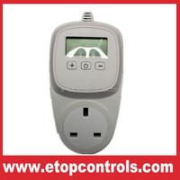UK wall plug thermostat heating
