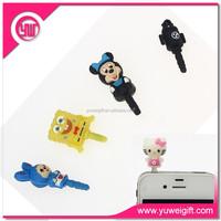 Mobile phone accessories custom anti dust plug / anti dust plug