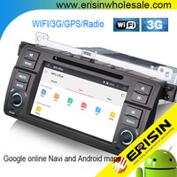 Erisin ES2246B 2 Din 7 inch Touch Screen Car Radio DVD CD GPS for E46 M3