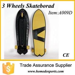 Caster complete skateboard cruiser