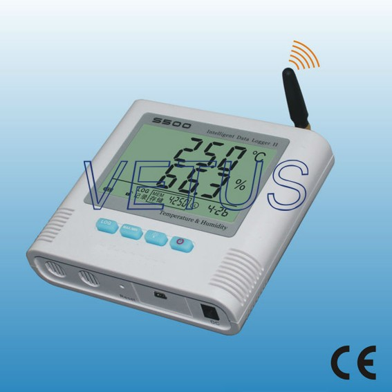 Wireless Temperature Logger : Wireless temperature humidity data logger s th gsm
