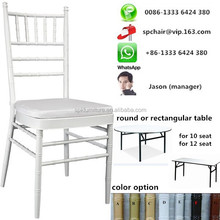 Foshan factory near Guangzhou cheap chiavari tiffany chairs promotion