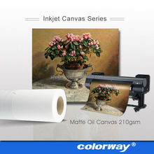 Roll Size double-sided cotton inkjet canvas painting