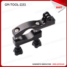 CNC Aluminum Bike Motorcycle 23-32mm Handlebar Camera Fast Mount bike holder for HD 2 3 Plus 4