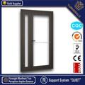 Arco superior colgó aluminio ventana abatible / oscilo-batiente, doble cristal