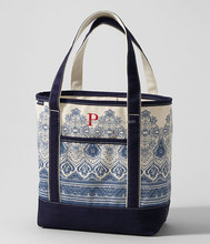Custom Open Top Stand upright Print Cotton Tote Bag