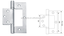 Stainless steel with high quality furniture modern for wood door mirror cabinet door hinge