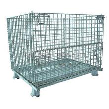 Foldable Steel Wire Mesh Bin