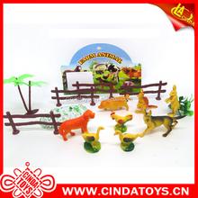 cheap fowl set farm animal,animal world set children samll gift pvc mini animal toys figure