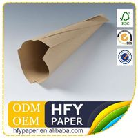 Elegant Top Quality Raw Material Customize Recycled Brown Paper A4 80Gsm