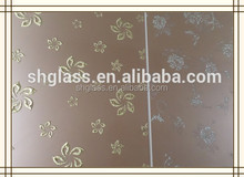 LOOK! 4mm 5mm Float Reflective Glass Coated Glass Size 1830* 2440mm made in china