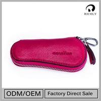 Hotsale Top Quality Customized Genuine Leather Smart Key Case
