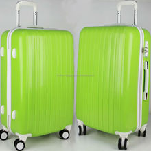 striped abs /pc brand trolley eminent luggage