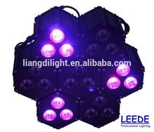 3*12W RGB led combination stage lighting led par party light wedding decoration