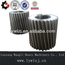 4140 42CrMo4 Ball Mill Helical Gear with Hardened Surface