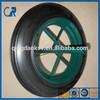 "wheelbarrow solid wheel french solid wheel 14x4 solid wheel,14"" solid rubber tire"