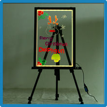 High Quality ZD K4 Electronic Advertising Aluminum Alloy Frame LED Writing Board LED Drawing Boards Transparent Display Boards