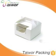 Fancy Custom Decorative Paper Box Wholesale Cupcake Boxes