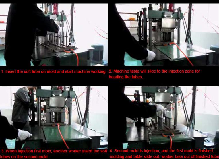 soft plastic injection machine