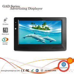Monitor 7 inch,8inch,9 inch,10 inch LCD Cad,Car ,taxi Advertising Display with Motion Sensor