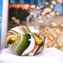 2014 newest aroma diffuser fragrance lamp with oil painting/GX-06K