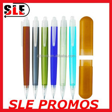 2 IN 1 PP box statinery set with propelling pencil and ballpen