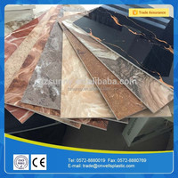 PVC marble shower wall panels