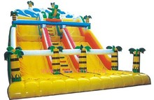 children outdoor inflatable slide LY-077C