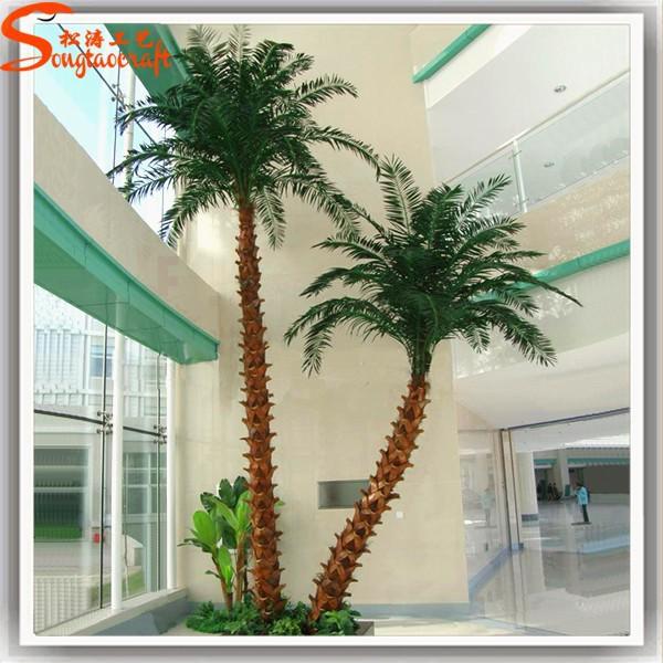 Exterior artificial palmeras palmera artificial fake - Como hacer una palmera artificial ...