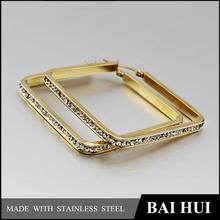 Wholesale 2015 New 316 Stainless Steel Ladies Earrings Designs, Fashion Gold Ladies Earrings Designs Pictures