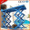 Hydraulic goods lifts/scissor cargo lifts