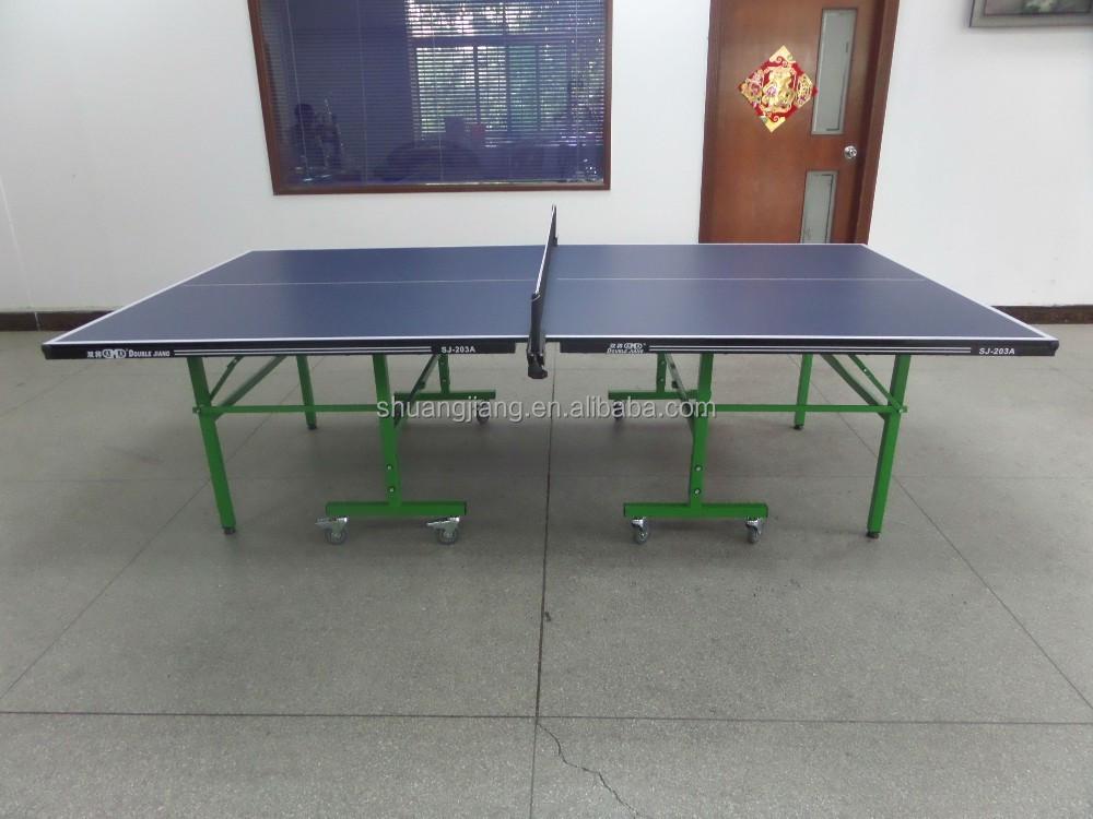Estándar tamaño plegable mesa de ping-pong