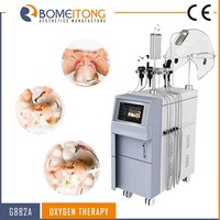 O2 injection wrinkles reduction face lifting beauty machine