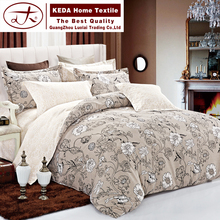 China most popular products for reactive printed polyester fabric jacquard bedding blanket set