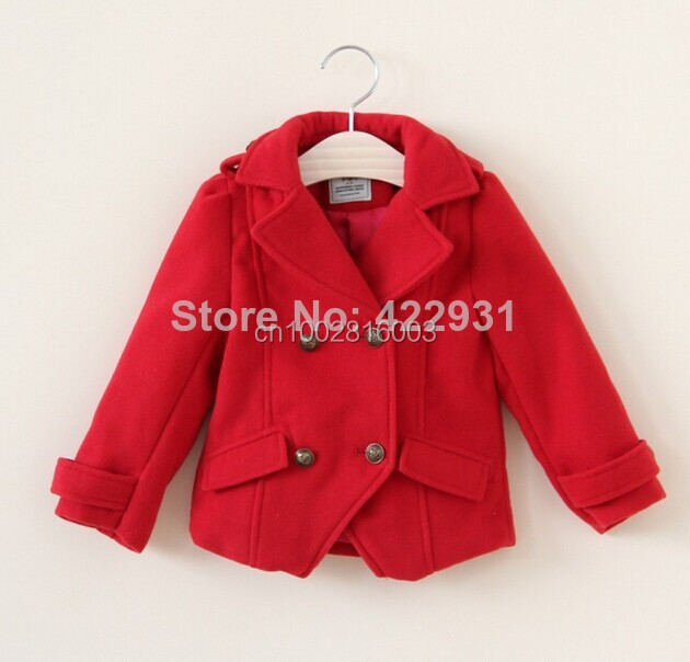 Wholesale 2016 British Designer Girl&39S Fashion Jackets Girls