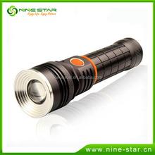 Aluminium alloy emergency light high power waterproof torch light