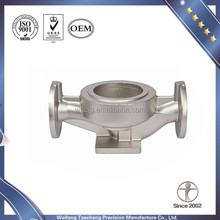Over 10 Yrs Casting Experience Stainless steel water pump spare parts according your drawing