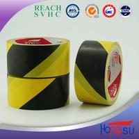 Yellow/black underground detectable warning tape