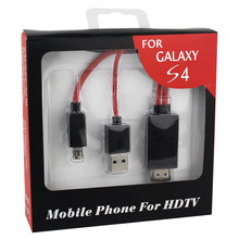 HDMI to usb cable adapter for Samsung Galaxy S3 MHL HDTV adapter