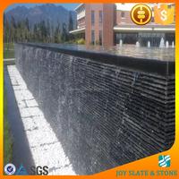 Stacked slate rock waterfall veneer decorative wall cultured stone outdoor waterfall wall